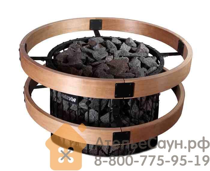 Защитное ограждение для печи Harvia PO 11 со светодиодной подстветкой, SASPO241L