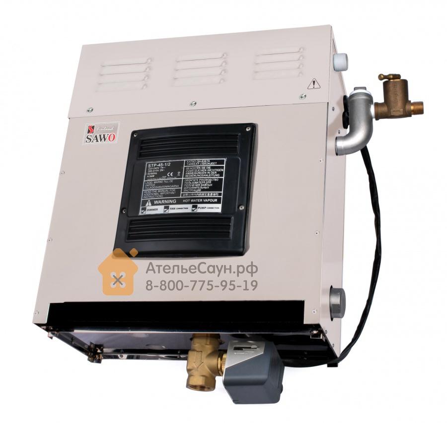 Парогенератор Sawo STP-45-1/2 SST-DFP (сенсорный пульт, автоочистка, 3 доп. функции)