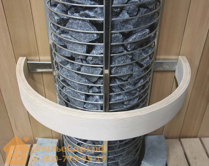 Деревянное ограждение для печи Sawo Tower TH12-WL пристенное