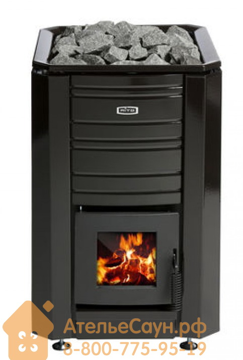 Дровяная печь Aito 20 Boiler L (теплообменник слева, арт. 2161)