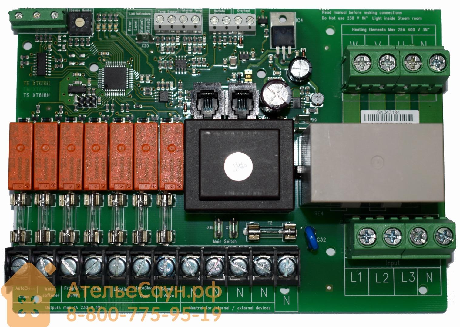Электронная плата Harvia для парогенераторов серии HGX, WX604