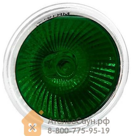 Лампочка для цветотерапии Harvia MR-16 EXN-С зелёный цвет, ZVV-140