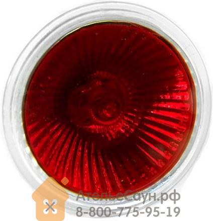 Лампочка для цветотерапии Harvia MR-16 EXN-С красный цвет, ZVV-140