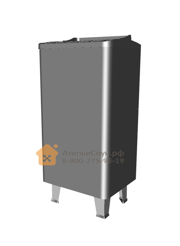 Печь EOS Thermo-Tec S 6,0 кВт (антрацит, напольная)