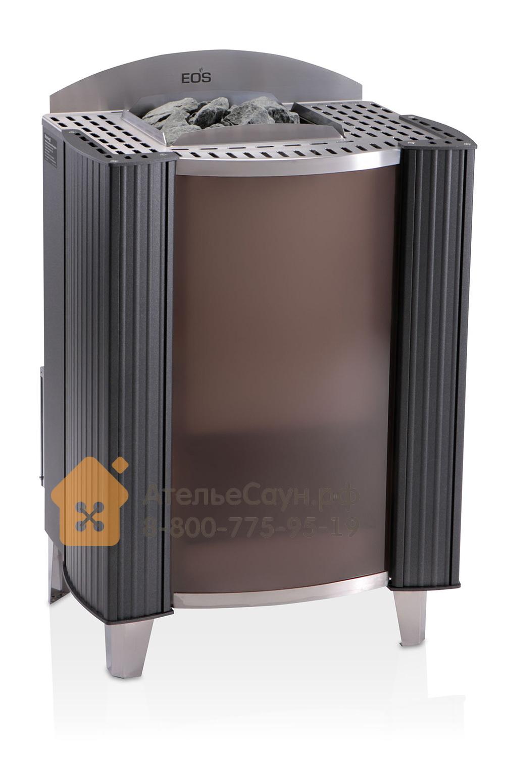 Печь EOS Germanius 12,0 кВт (антрацит)
