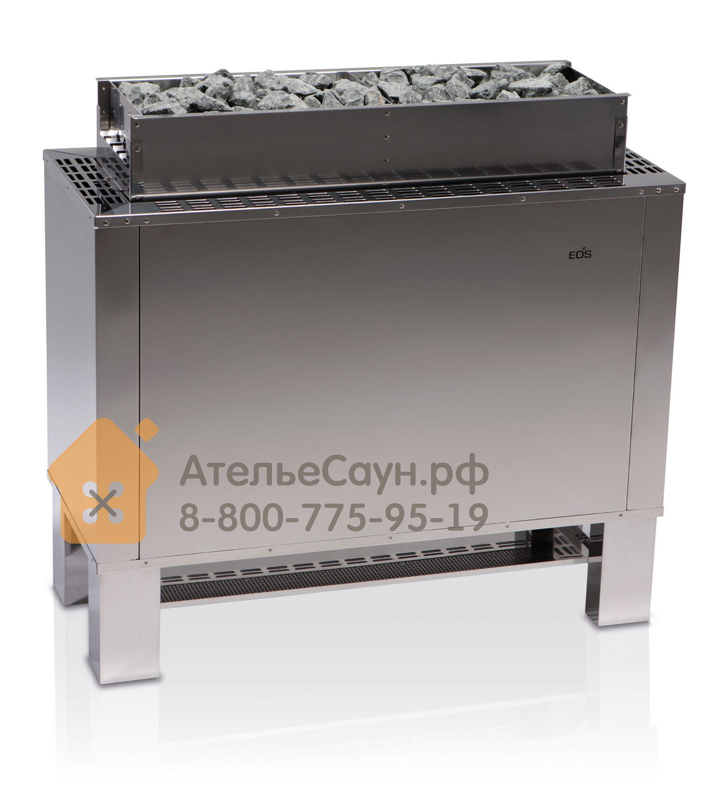 Печь EOS 34G 27,0 кВт (нержавеющая сталь)