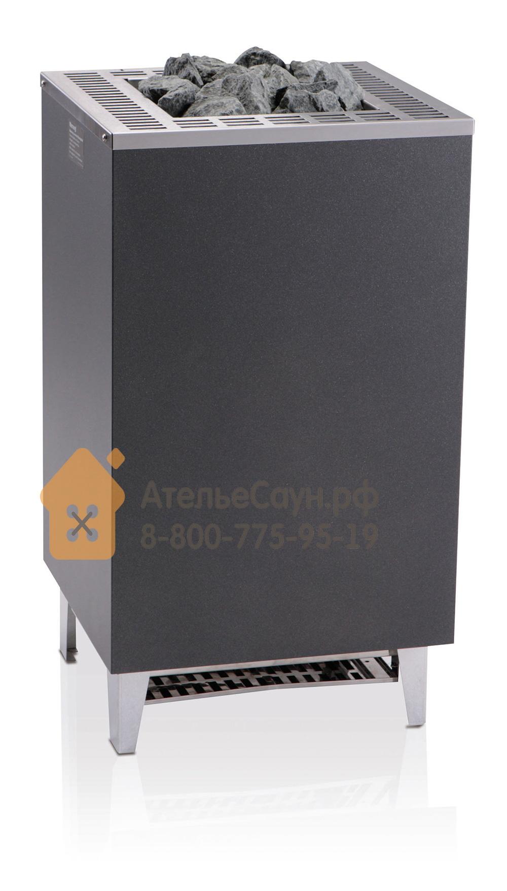 Печь EOS Cubo 12 кВт (антрацит)