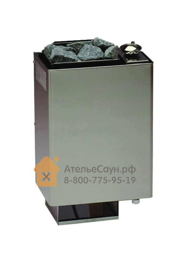 Печь EOS Bi-O-Mat W 7,5 кВт (нержавеющая сталь, с парогенератором)