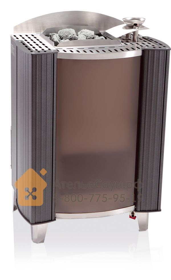 Печь EOS BI-O-Germanius 15,0 кВт (антрацит, с парогенератором)