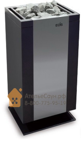 Печь EOS Mythos S35 9,0 кВт (антрацит/нерж.)