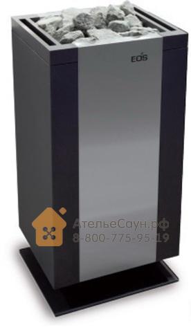 Печь EOS Mythos S45 12,0 кВт (антрацит/нерж.)