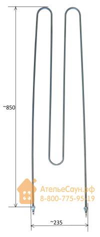 ТЭН Helo SEPC 199 (2267 W, для печи Rocher)