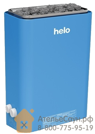 Электрическая печь Helo VIENNA 45 STS (с пультом, голубая, арт. 000500)