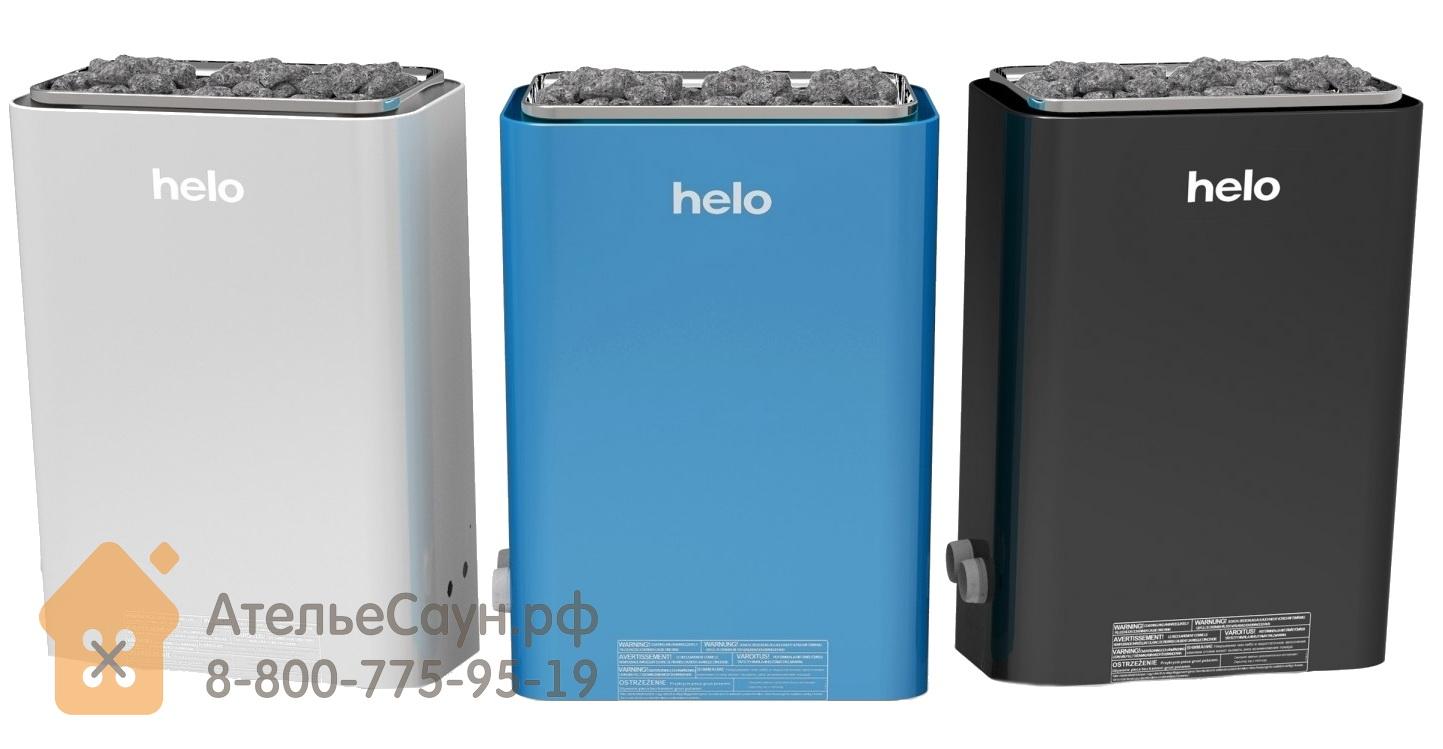 Электрическая печь Helo VIENNA 80 STS (с пультом, голубая, арт. 000502)