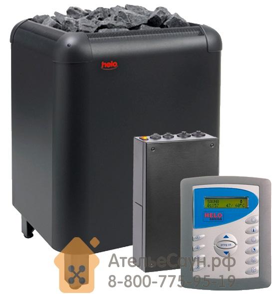 Комплект печь Helo Laava 1201 + пульт Digi II + блок WE4 (арт. HCLA02)