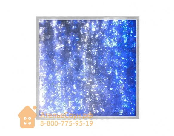 Панно для сауны Cariitti Arctic Cloud (1589038, 300х300х25 мм, стеклянная крошка)