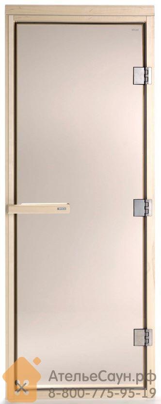 Дверь для сауны Tylo DGM-63 190 (коробка ольха, бронза, арт. 14013001)