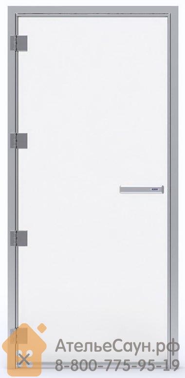 Дверь для турецкой парной Tylo 60 G 9x19 (прозрачная, левая, алюминий, арт. 90912276)