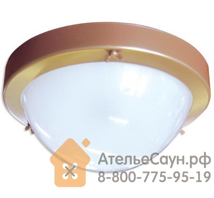 Светильник для бани ТЕРМА 1 золото (до +120 С, IP65, арт. НББ 03-100-001)