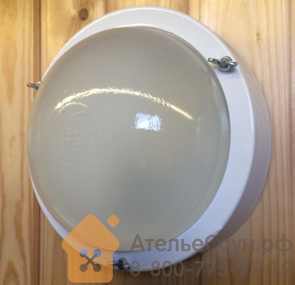 Светильник для бани ТЕРМА 3 белый (до +120 С, IP65, арт. НББ 03-60-003)