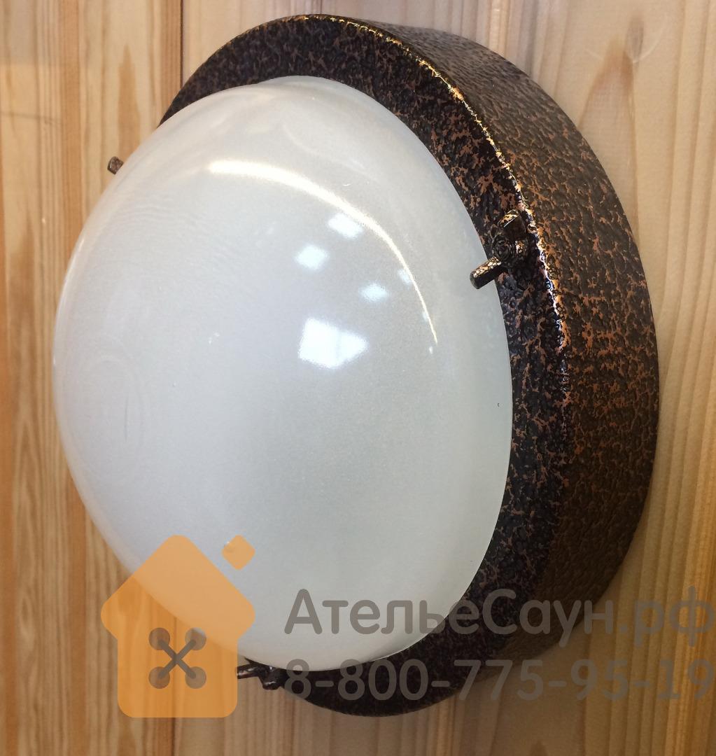 Светильник для бани ТЕРМА 3 медь (до +120 С, IP65, арт. НББ 03-60-003)
