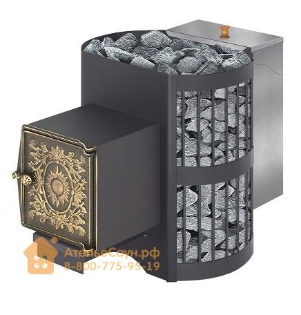 Печь Везувий Скиф 12 ВЧБ (топка с выносом, чугунная дверка)