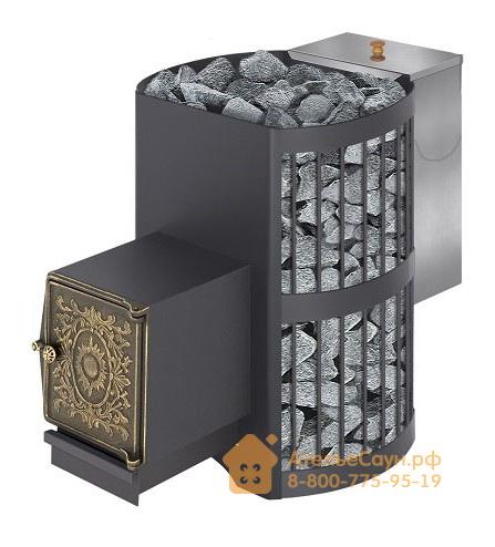 Печь-каменка Везувий СКИФ 22 ВЧБ (топка с выносом, чугунная дверца)