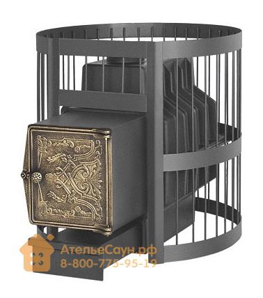 Печь Везувий Легенда Стандарт 22 ВЧ (выносная топка, чугунная дверца без стекла)