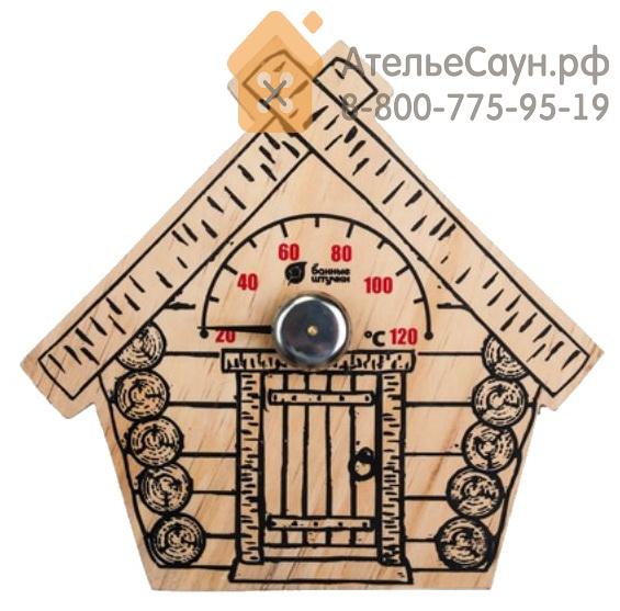 Термометр Парилочка (17х16 см, арт. БШ 18044)