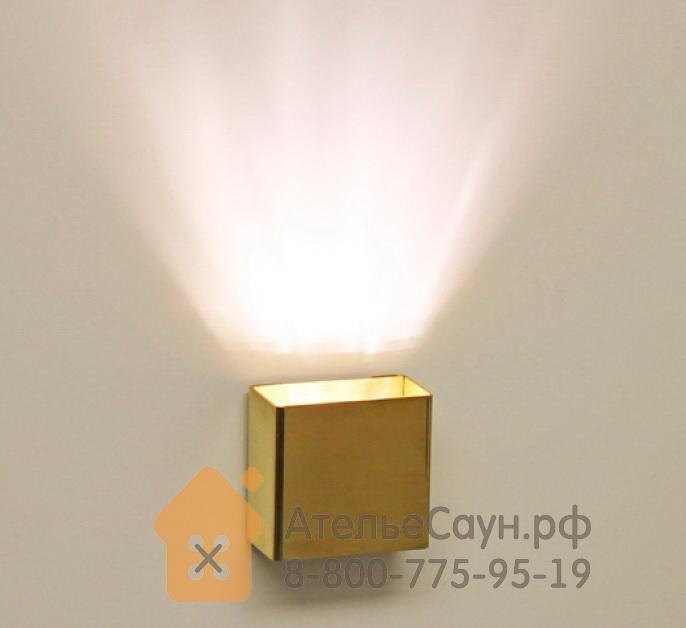 Светильник для турецкой парной Cariitti SY SQ (1545231, IP67, золото, светодиод)