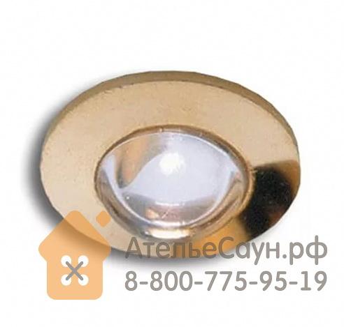 Светильник для турецкой парной Cariitti CR-05 Led (1545219, IP67, золото, линза прозрачная)