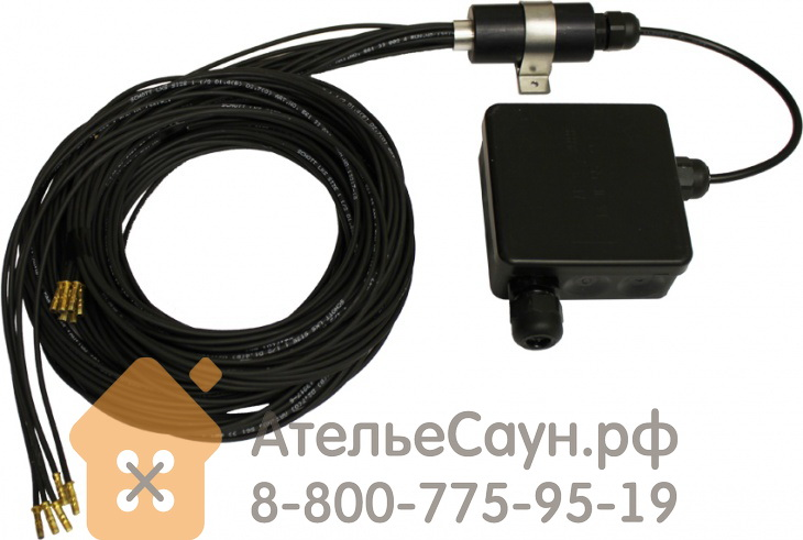Комплект для подсветки сауны Cariitti VPL10-E511 (1524011, стекловолокно, 5+1 точка)