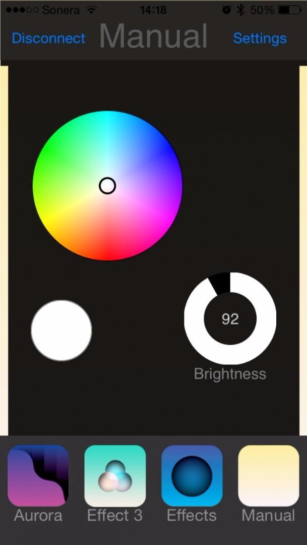 Проектор Cariitti VPL30C BT (1501489, IP65, светодиод, со сменой цветов, Bluetooth)