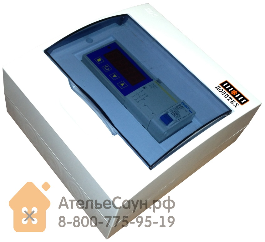 Пульт управления для сауны ПЦ Политех /220 (цифровой, 3-7 кВт)