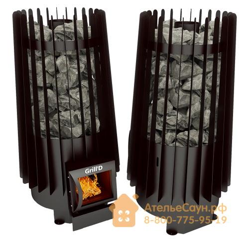 Печь для бани Grill D Cometa 180 (Short black)