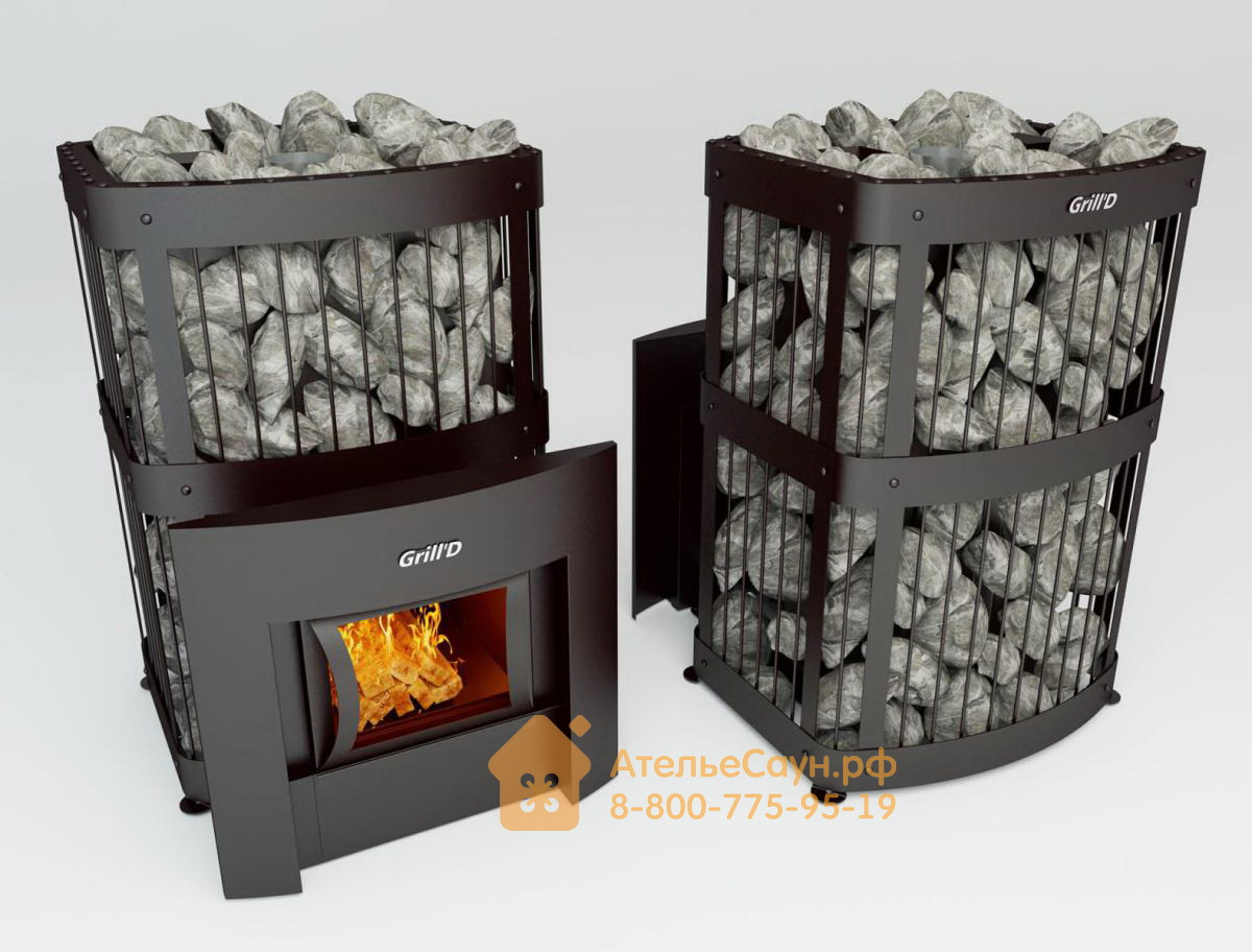 Печь для бани Grill D Fortuna 280 G (Window black)