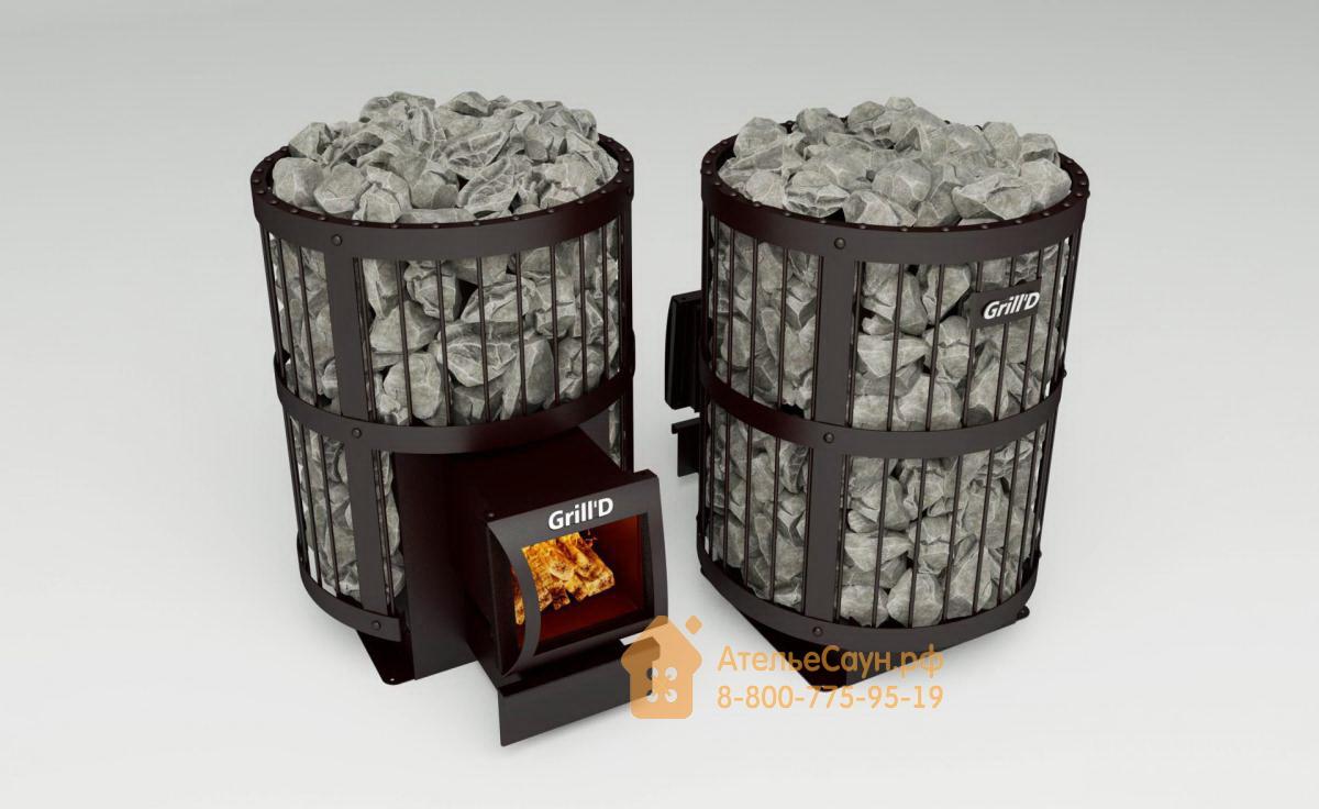 Печь для бани Grill D Leo 130 (Long black)