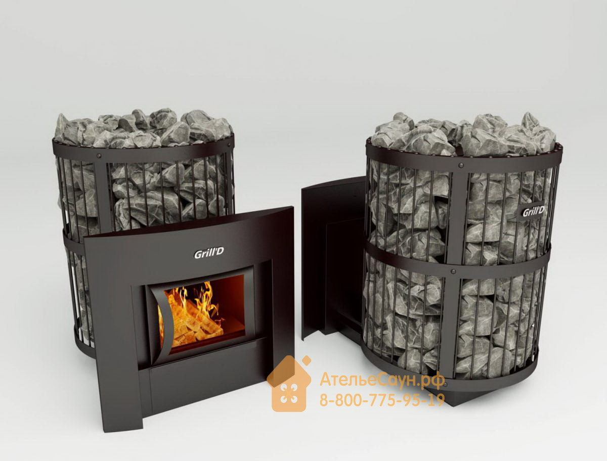 Печь для бани Grill D Leo 240 (Window black)