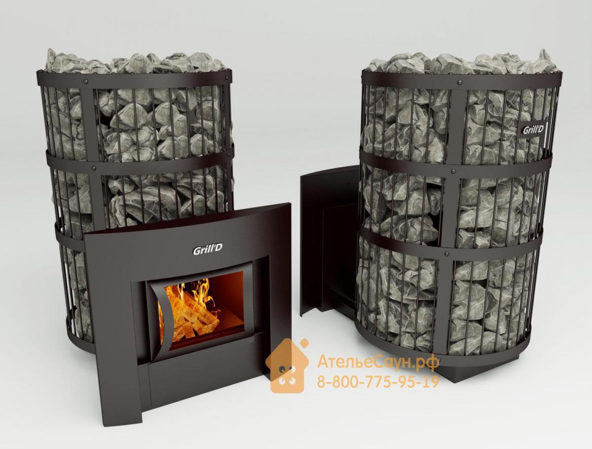 Печь для бани Grill D Leo 300 (Window black)