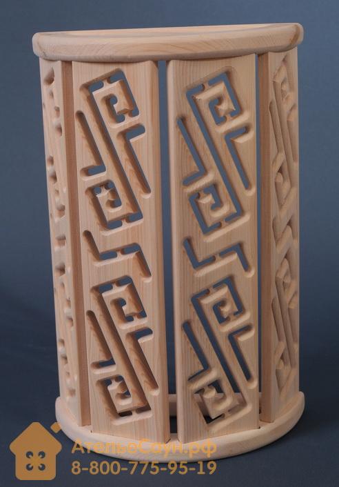 Ограждение светильника АСОЛЬ Р3 для бани и сауны (кедр сибирский)