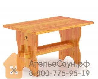 Стол для бани BentWood из лиственницы 1,10 х 0,70 м H = 0,75 м