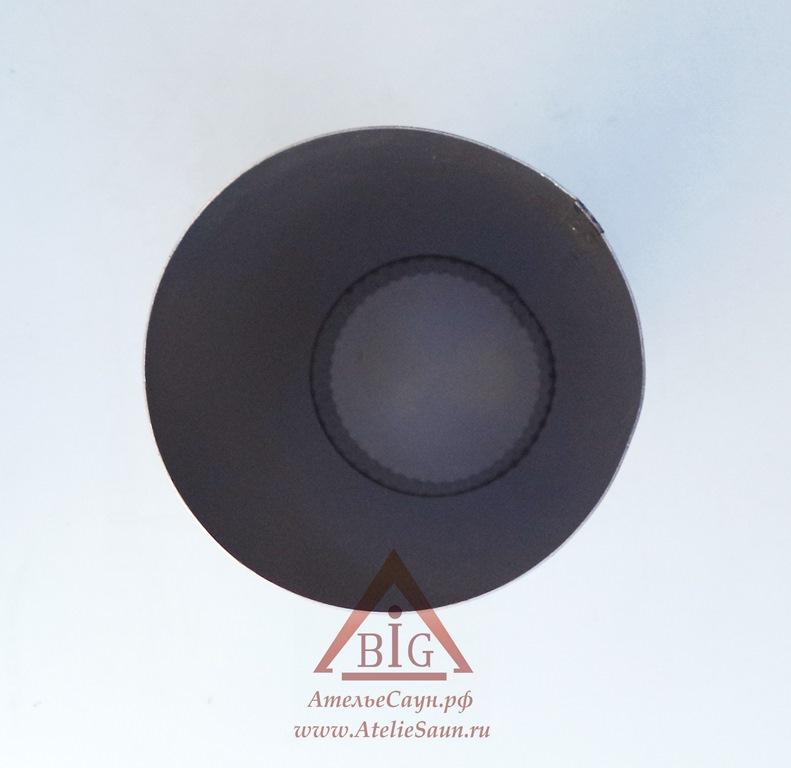 Труба голая D120 мм L = 0,35 м (нерж. 0,8 мм AISI 304)