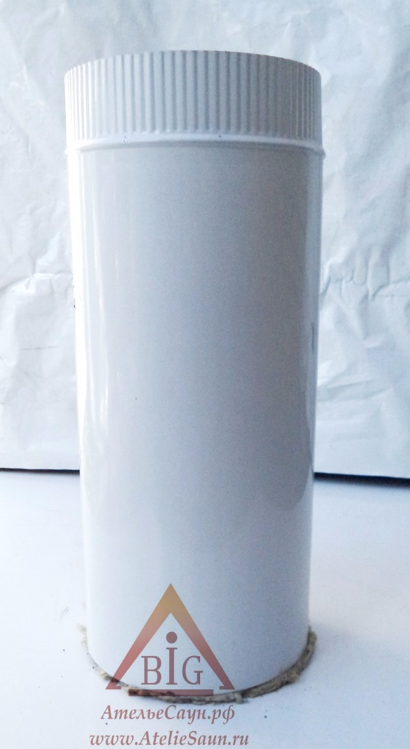 Труба сэндвич D120/220 мм L = 0,5 м (нерж. 0,5/0,5 мм AISI 304 внутри)