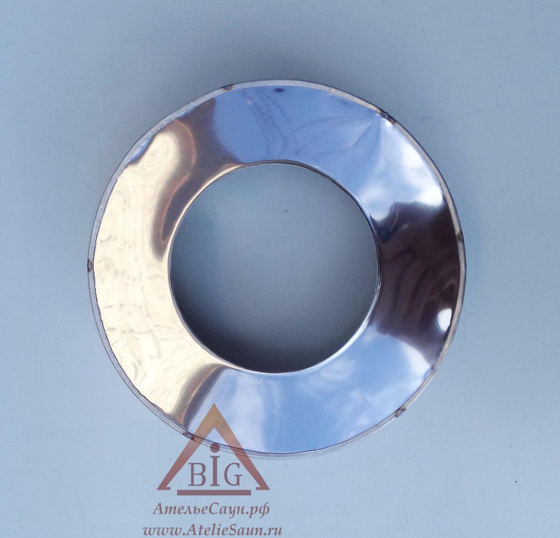 Заглушка низ D120/220 мм (на трубу в изоляции)