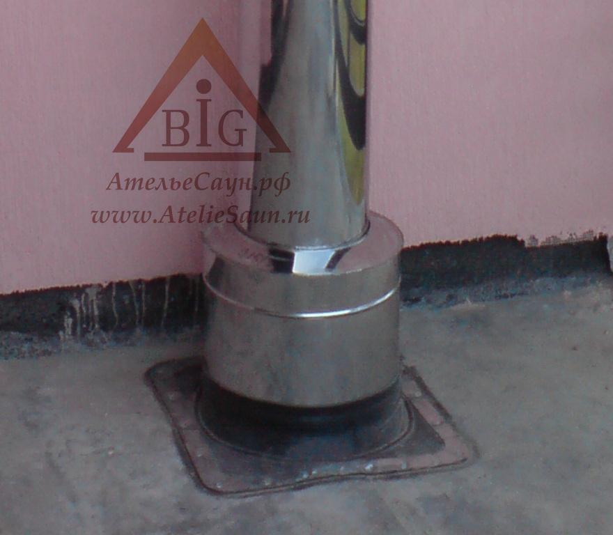Проходной стакан D220/320 мм L = 0,5 м