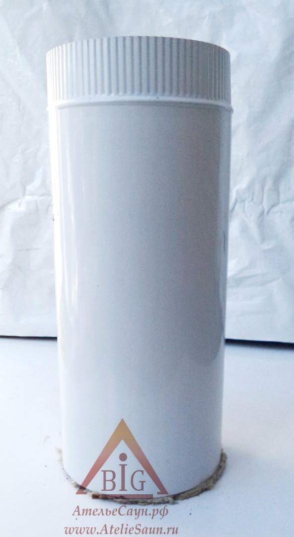 Труба сэндвич D150/250 мм L = 0,5 м (нерж. 0,5/0,8 мм AISI 304 внутри)