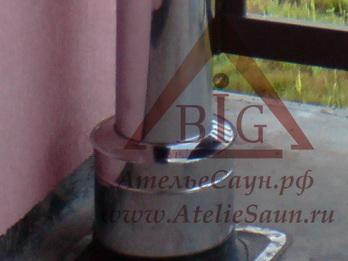Заглушка верх D250/350 мм (на проходной стакан)