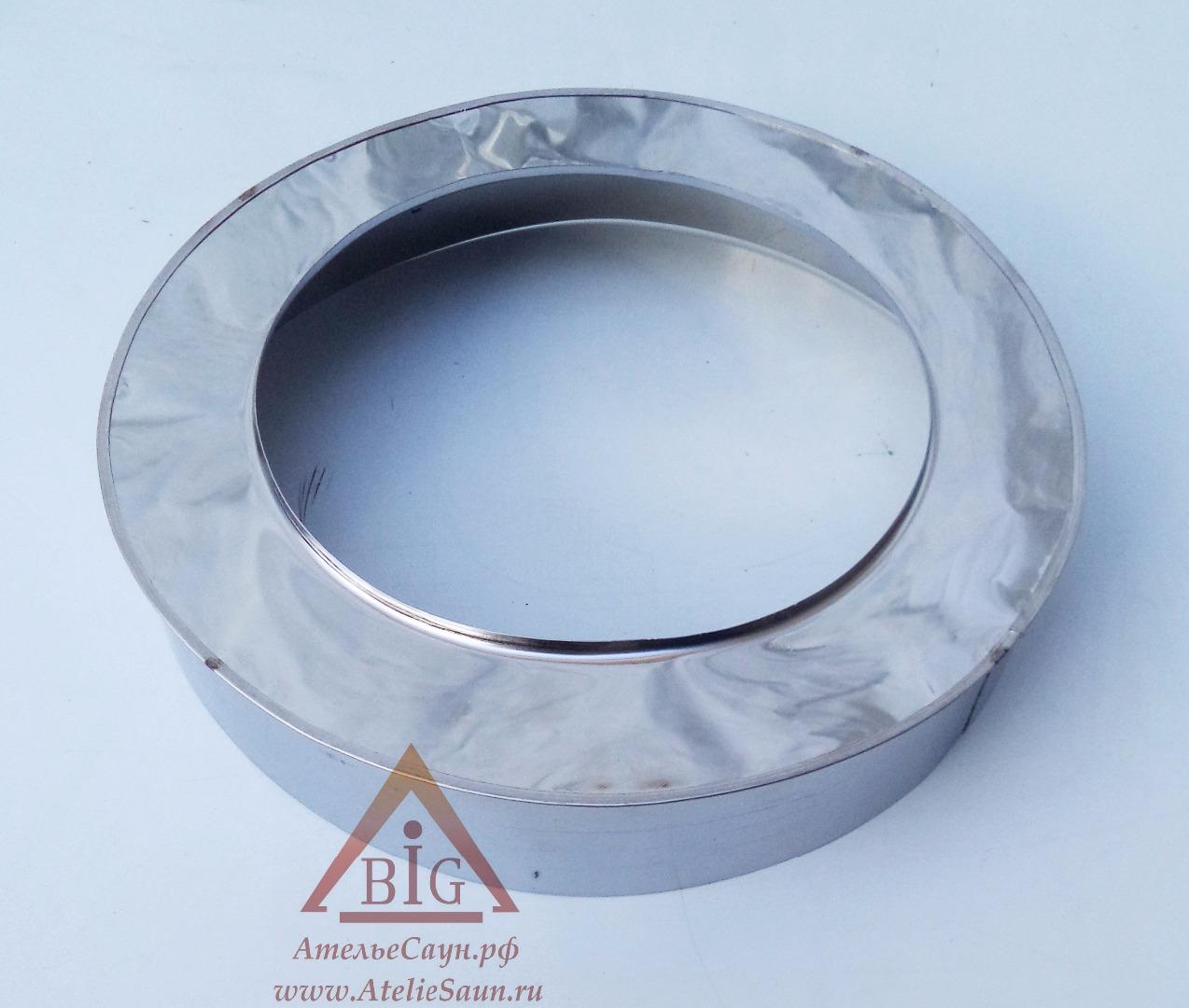 Заглушка низ D250/350 мм (на проходной стакан)