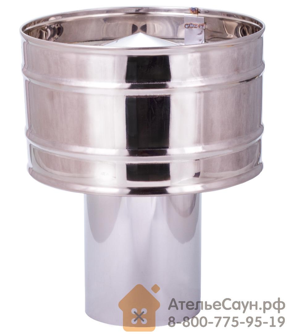 Дефлектор D150 мм (зонт+искрогаситель)