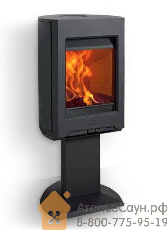 Печь камин Jotul F 166 CB BP (чугунная печь, чёрная, экономия дров, закрытая камера горения)